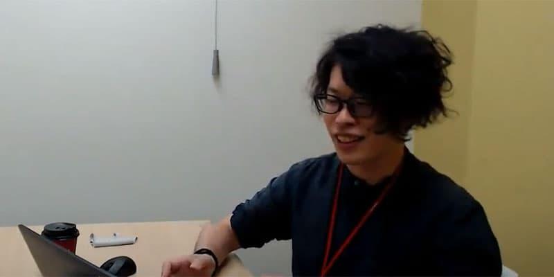 メンバーズ所属でディレクターの福田大輔さん。メンバーズルーツの仕事も兼務。