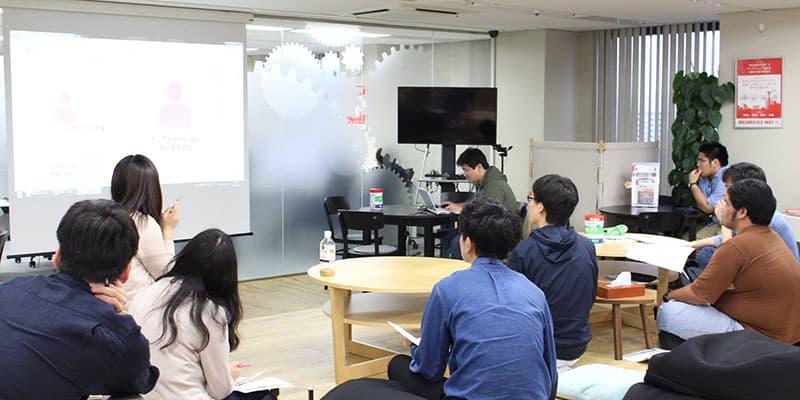 北九州オフィスで行われた勉強会